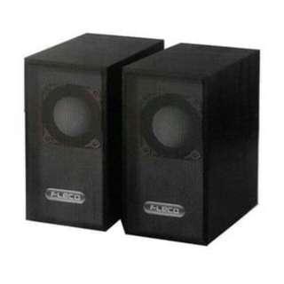 Speaker aktif fleco F-016/015-merah