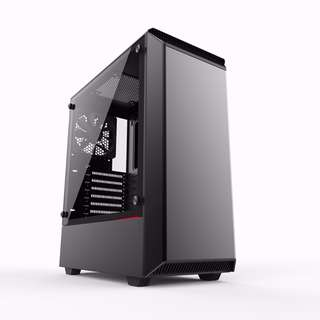 Phanteks Eclipse P300 Tempered Glass, Black
