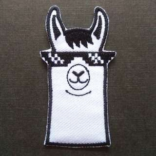 Alpaca Swag Iron On Patch