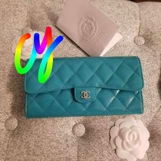 Chanel Large Gusset Wallet