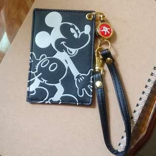 東京迪士尼 米奇伸縮證件套