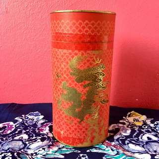 *PRICE DROP* Old Chinese tea tin