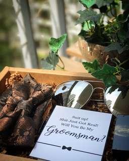 Groomsman/Groomsmen Gift