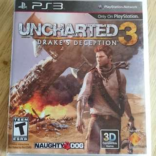 Uncharted 3 - Drake's Deception for PS3