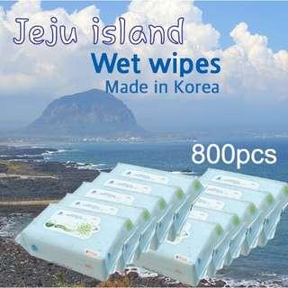 Jeju Island Baby Wet Wipes Korea