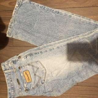 美國wrangler牛仔褲