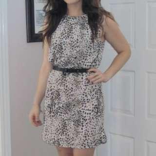 Topshop Sleeveless Shift Dress