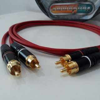 RCA to RCA Vandamme InterconnectCable