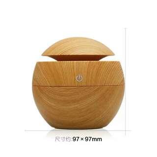 木紋香薰加濕器 130ml(可用精油款)