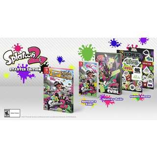 (Brand New) Nintendo Switch Splatoon 2 Starter Edition