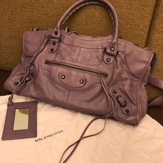Balenciaga Part Time Bag Purple