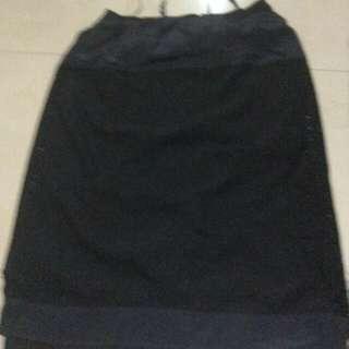 plus size black dress