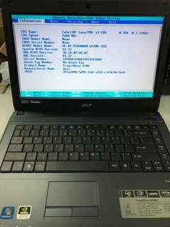 Acer 4740G i3