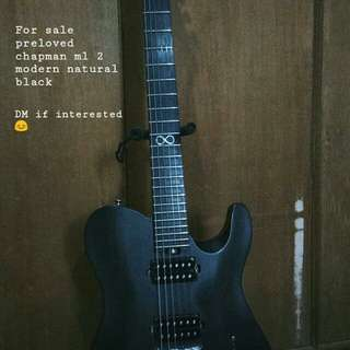 Chapman ml 2 modern natural black