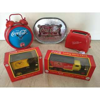 5 x Coca-Cola Coke Collectibles
