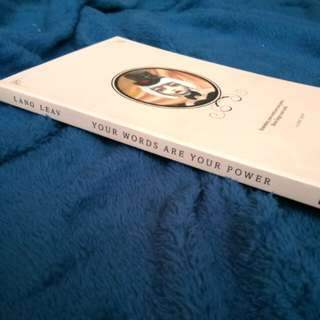 YOUR WORDS ARE YOUR POWER BY LANG LEAV