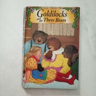 Buku cerita Pocket story book Goldilocks and Three Bears