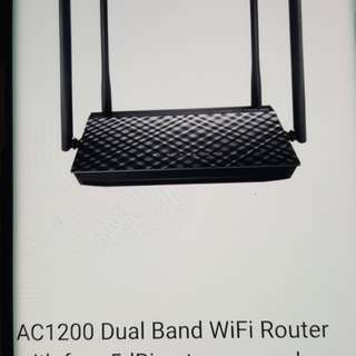 Asus wifi router AC 1200+