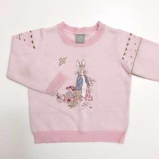 奇哥童裝Peter Rabbit彼得兔女童毛衣 針織長袖上衣