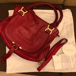 Chloe Marcie Medium Shoulder Bag