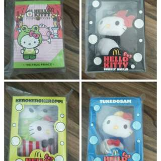 Hello Kitty collection x 8