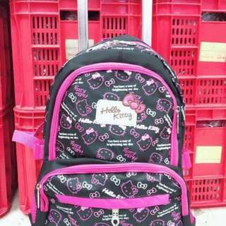IC Hellokitty  Trolley bag  -Size: Backpack 17x13 inches