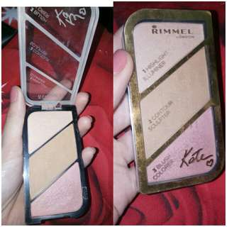 Rimmel london highlighter/contour/blush on