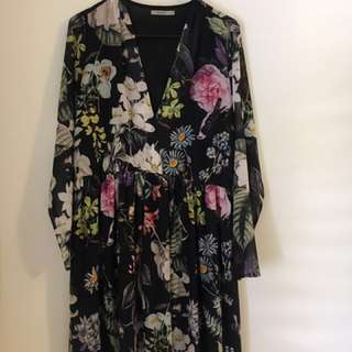 Floral dress by Thurley