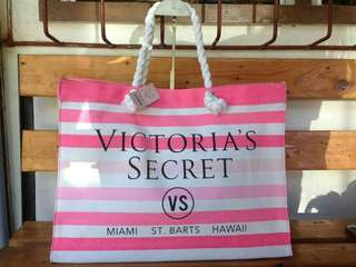 Authentic Victoria's Secret Rope Tote