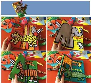 🌈(Ready Stock) 💯Brand New Jollybaby Educational Early Development Cloth Book