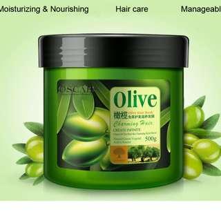 OLIVE OIL MOISTURIZING HAIR MASK FOR WOMEN