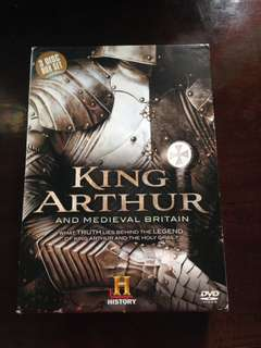 King arthur movie collection original cds