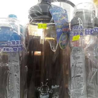 台灣做/寶石牌冷熱飲管(可拆)水樽 2000ml