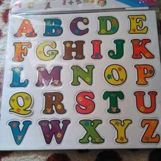 ABC magnetic Alphabets