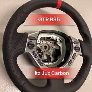 Nissan GTR R35 Full leather Steering
