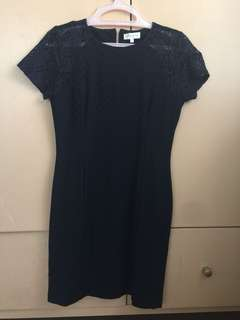 Navy Blue Dress from Apple & Eve