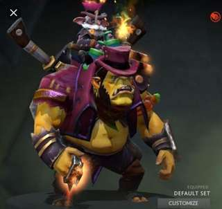 Dota 2 - Alchemist Darkbrew Enforcer