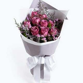 Flower Bouquet∕Hand Bouquet∕Birthday Bouquet∕Anniversary Bouquet∕Proposal Bouquet - 5506