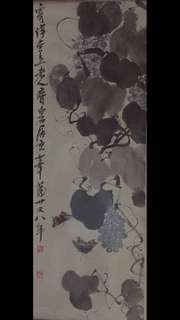 Chinese painting Famous painter Down payment 齐白石100% hand painting