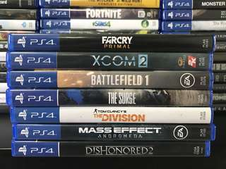 PS4 Games SET 3