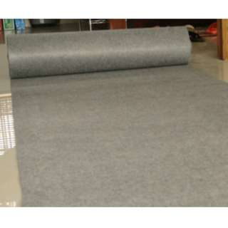 Exhibition Carpet -Red & Grey/ Wholesaler in Singapore