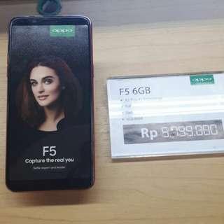 OPPO F5 6GB Bisa Cicilan Tanpa Kartu Credit Promo Dp 15% Dan Bunga Ringan