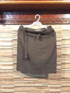 Project Scoop (Paper Dolls) Pencil Denim Skirt
