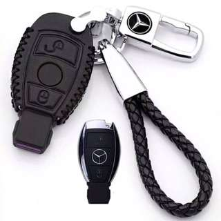 Mercedes Car Key Cover [Leather]