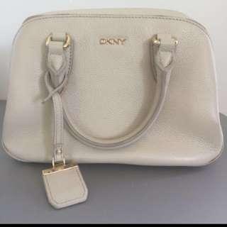 DKNY beige handbag