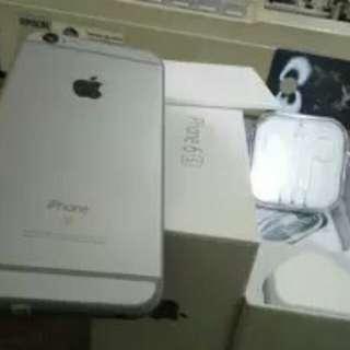 Jual Rugi iPhone 6S grey 64GB Fullset