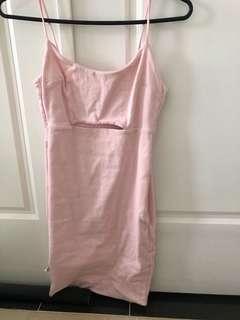 Pink kookai dress size 1