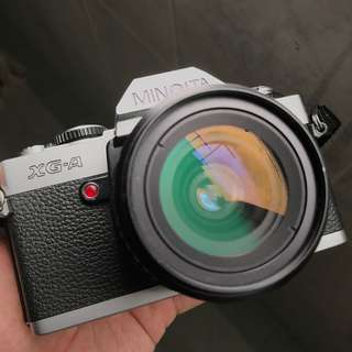 Minolta XGA FIlm SLR + 28mm F2.8 lens [Film Tested]