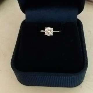 慶豐珠寶51份鑽石戒指超閃
