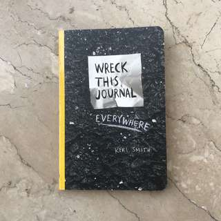 Wreck This Journal... Everywhere